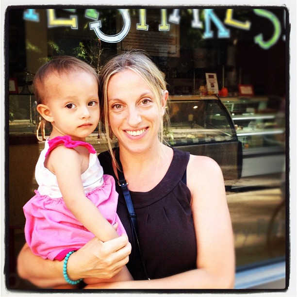Ophira & Libra daughter Cybele in NYC