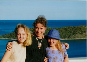 Ann, Chris, Kate 1995
